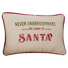 The Power of Santa Lumbar Pillow