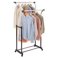 Free Standing Storage Adjustable Garment Rack