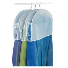 Peva Storage Shoulder Garment Bag (Set of 3)