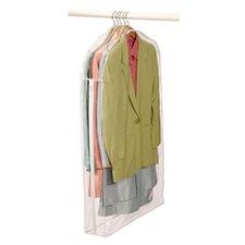 Clear Vinyl Storage Suit Garment Bag