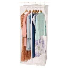 Clear Vinyl Storage Jumbo Maxi Rack Dress Garment Bag
