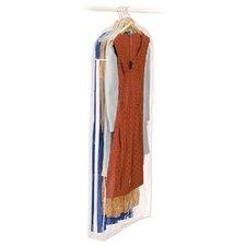 Clear Vinyl Storage Dress Garment Bag