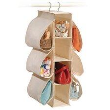 Natural Canvas Storage 10-Pocket Hanging Organizer