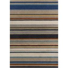Harlequin Stripes Area Rug