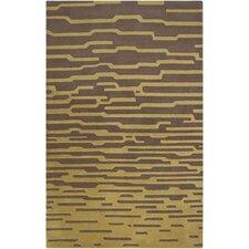 Harlequin Olive/Dark Taupe Geometric Area Rug