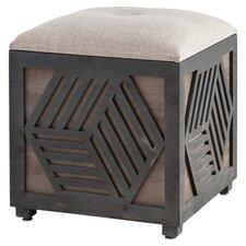 Oscar Upholstered Storage Ottoman