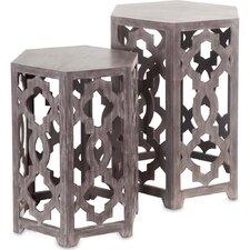 Hollis 2 Piece End Table Set