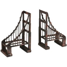 Suspension Book End (Set of 2)