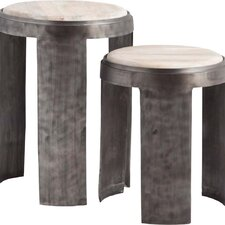 Sonchusse End Table (Set of 2)