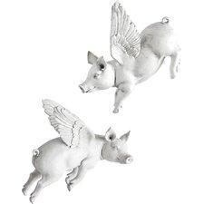 2 Piece Hogbadi I Sculpture Set