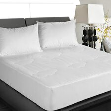 All Natural Down Alternative 100% Cotton Filled Mattress Pad