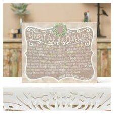 Beautiful The Marriage Wall Decor