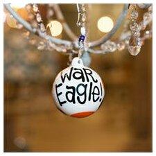 Auburn Aubie Ball Ornament