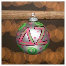 Delta Zeta Glass Ball Ornament