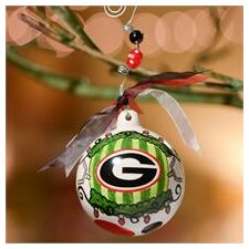 Georgia Between The Hedges Ball Ornament