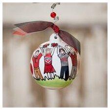 Ohio State Ball Ornament