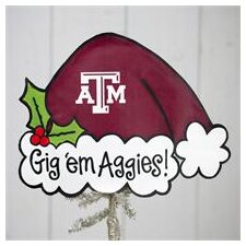 Texas A and M Tree Topper