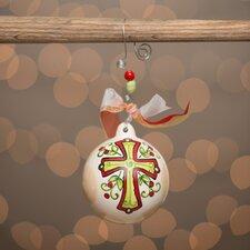 Cross Ball Ornament