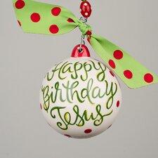 Happy Birthday Jesus with Cupcake Bal