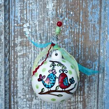 Birds Our First Christmas Ornament