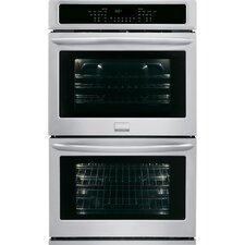 """27"""" Electric Double Wall Oven in Stainless Steel"""