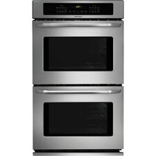 """30"""" Electric Double  Wall Oven in Stainless Steel"""
