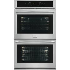 """Gallery Series 30"""" Electric Double Wall Oven in Stainless Steel"""