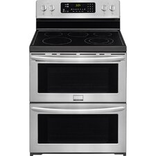 Gallery 3.6 Cu. Ft. Electric Convection Range in Silver