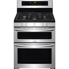 Gallery 5.9 cu. ft. Double Oven Convection Gas Range