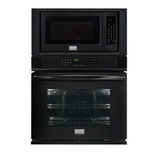 Gallery 27'' Convection Electric Double Wall Oven with Microwave Combination