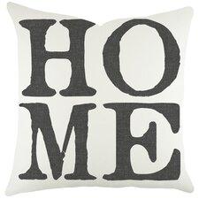 Home Cotton Throw Pillow