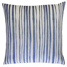 Batik Stripe Throw Pillow