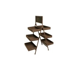 Six Shelf Multi-Tiered Plant Stand