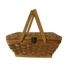 Woodchip Picnic Basket