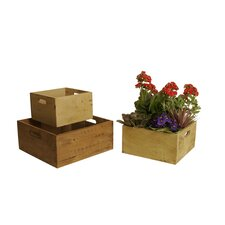 3 Piece Square Crate Set