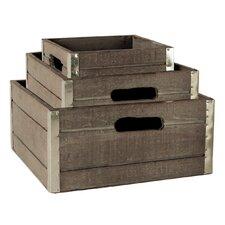 3 Piece Crate Set