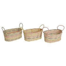 3 Piece Round Pot Cover Set (Set of 3)