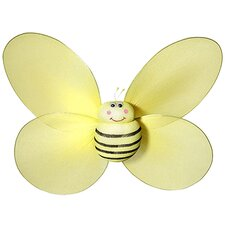 Bumble Bee with Smiling 3D Wall Decal
