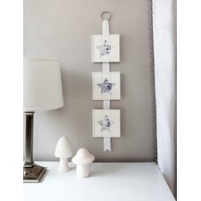 Star Hanging Wood Baby Picture Frame
