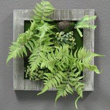 Artificial Ferns Plants Wall Décor