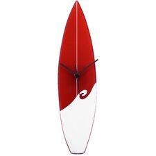 Surfboard Wall Clock