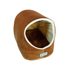 Pet Bed in Brown and Ivory