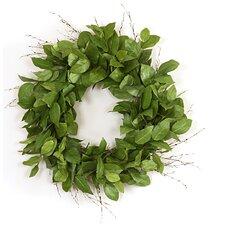 """22"""" Lemon Leaf Wreath"""