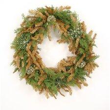 "30"" Cedar Ornament Wreath"