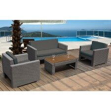 Oasis 4 Seater Sofa Set with Cushions