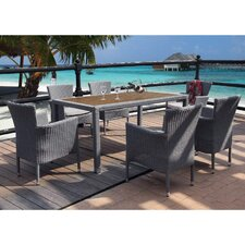 Oasis 6 Seater Dining Set with Cushions