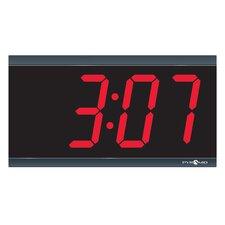 """4"""" 4 Digit Digital Stand Alone Wall Clock"""