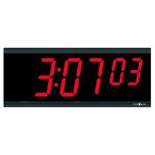 """4"""" 6 Digit Digital Stand Alone Wall Clock"""