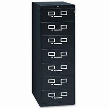 7-Drawer Card Filing Cabinet
