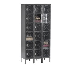 6 Tier 3 Wide Box Locker